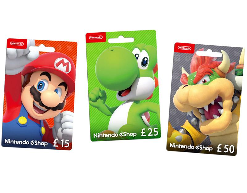 Nintendo eShop Gift Card, V Games For U, vgamesforu.com