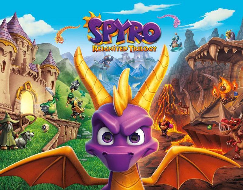 Spyro Reignited Trilogy (Xbox One), V Games For U, vgamesforu.com