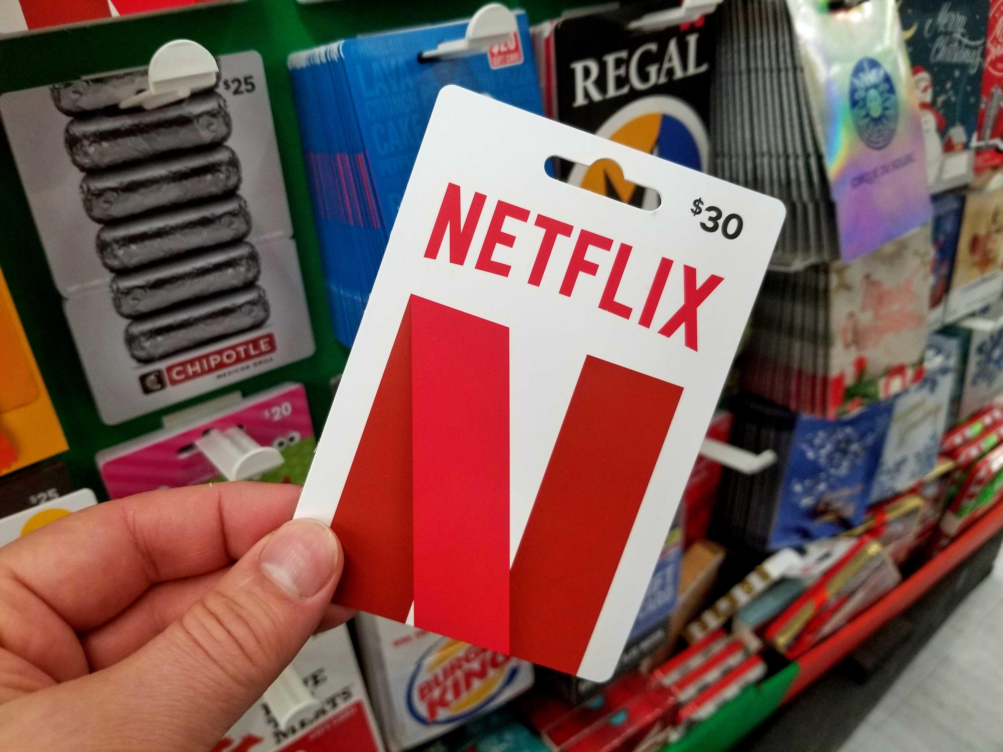 netflix-gift-card, V Games For U, vgamesforu.com